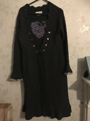 Odd Molly Uncorporated Lambswool Dress Size 1 Exc Condition
