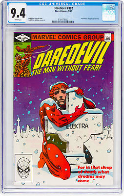 Daredevil #182, CGC NM 9.4, White Pages, Punisher & Kingpin Appearance