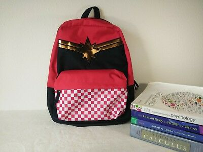 f761b48f89 VANS x CAPTAIN MARVEL Realm Backpack (NEW) Checkerboard Limited Free  Shipping