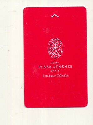 HOTEL PLAZA ATHENEE----Paris,France--Room key--K-90