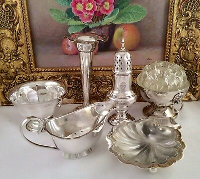 Fine Quality Joblot Of Antique/Vintage Mainly Sheffield Silver Plated Items