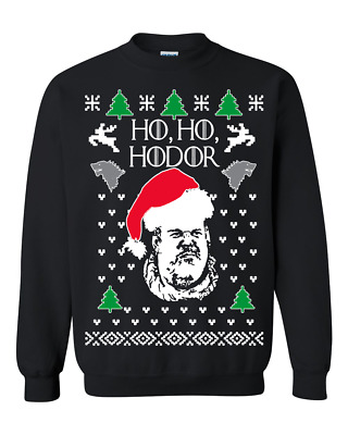 Ugly Christmas Sweater Funny.Let It Snow Ho Ho Hodor Game Of Thrones Ugly Christmas Sweater Funny Gift