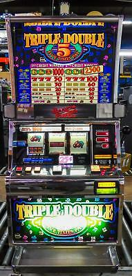 Igt S-2000 Reel Slot Machine: Triple Double Five Times Pay