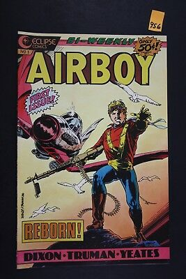 Vintage 1986 Eclipse No. 1 Airboy Comic Book First Issue Reborn! 956