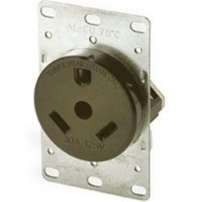 Cooper Wiring 1263-BOX Travel Trailer 30A Receptacle