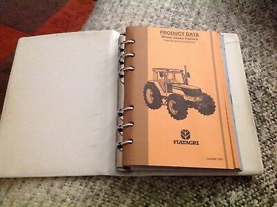 Ford New Holland product data spec manual 1991-94 series 40 70 94 tractors
