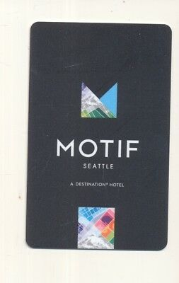 MOTIF SEATTLE----Seattle,WA-----Room key--K-98