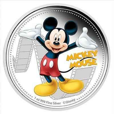 Niue 2014 $2 Disney Mickey & Friends 2014 - Mickey Mouse 1 Oz Silver Proof Coin
