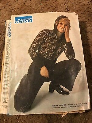 LOT 3 Vintage CATALOGUES MONTGOMERY WARDS Winter 1971  SEARS 1983 JC PENNY 1983