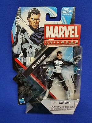 "Marvel Universe, Punisher, Series 5 #015, 3.75"" Action Figure, New"