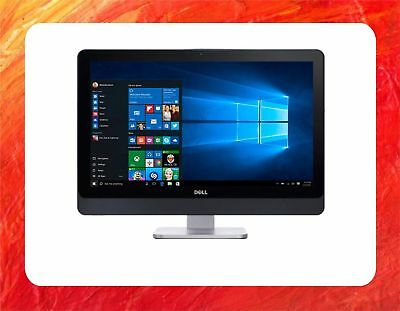 "DELL ALL IN ONE PC INTEL COREi5 4570S 2.9GHZ 8GB 500GB FULL HD 23"" LCD WIN10 PRO"