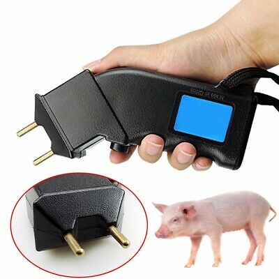 Handheld Cattle Prod Electric Shock Pig Dog Sheep Cow Goat Defense Moving Tool