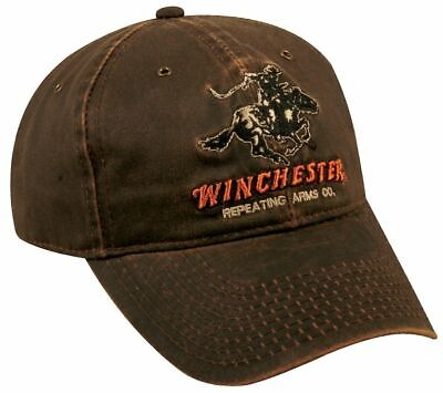OUTDOOR CAP WINCHESTER Cap Pro Mid Crown, Dark Brown, One Size, 72659 Men's  Hat