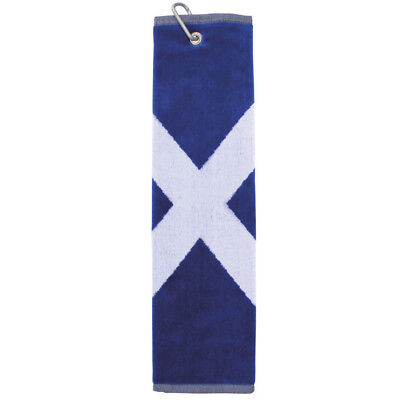 BRAND NEW National Flag Bag Towel - Saltire