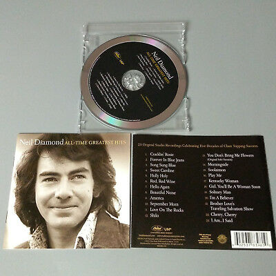 Neil Diamond - All-Time Greatest Hits 2014 USA CD VG #1401
