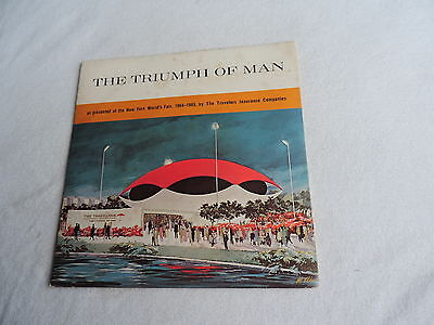 1964-65 New York's WORLD FAIR The TRIUMPH OF MAN record and booklet free shippin
