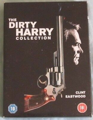 The Dirty Harry Collection. DVD Box Set. Clint Eastwood.