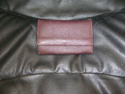 Brand New Vintage Ladies Purse Brown Real Leather Churchill