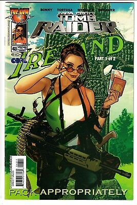 TOMB RAIDER: THE SERIES #43, ADAM HUGHES COVER, Image/Top Cow (2004)