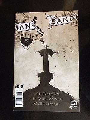 SANDMAN OVERTURE #5, SPECIAL INK VARIANT B, New, First print, DC Comics (2014)