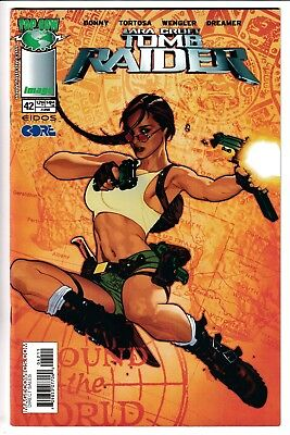 TOMB RAIDER: THE SERIES #42, ADAM HUGHES COVER, Image/Top Cow (2004)