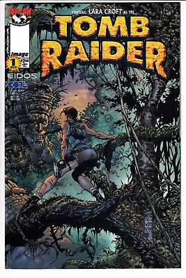 TOMB RAIDER: THE SERIES #1, DAVID FINCH VARIANT, Image/Top Cow (1999)