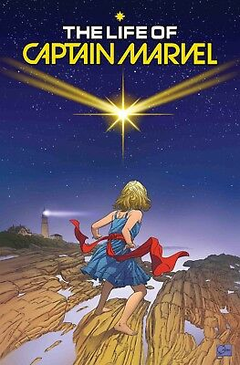 LIFE OF CAPTAIN MARVEL #1 (OF 5), QUESADA VARIANT, New, Marvel (2018)