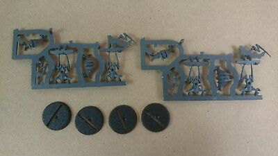 ML BS Warhammer 40,000 Quest Blackstone Fortress 4 Spindle Drones on Sprue