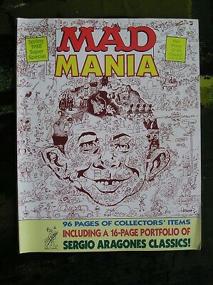 Mad Magazine Spring 1988 Super Special Number 62 Uk Edition
