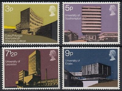 1971  Modern  British  University Buildings  Set  Sg 890 - 893   Unmounted Mint