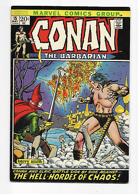Conan The Barbarian No. 15 - NICE - BWS - 1972