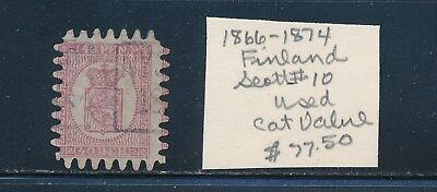 Own Part Of Finland Stamp History 1 Issue Cat $77.50  Shown
