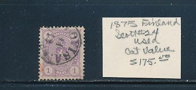 Own Part Of Finland Stamp History 1 Issue Cat $175.00  Shown