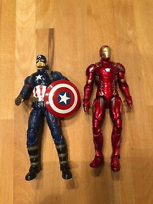 Action Figur Captain America und Iron Man - Marvel Avengers