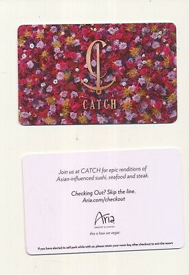 "new from--The ARIA--""CATCH-Asian Rest.""--Las Vegas,NV---Room key"