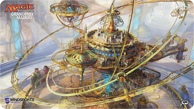 MTG Magic The Gathering Ultra Pro Grand Prix Madrid Playmat 2016 Ghirapur Orrery
