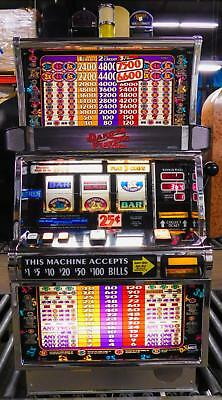 IGT S-2000 REEL SLOT MACHINE: DOUBLE 3x 4x 5x TIMES PAY