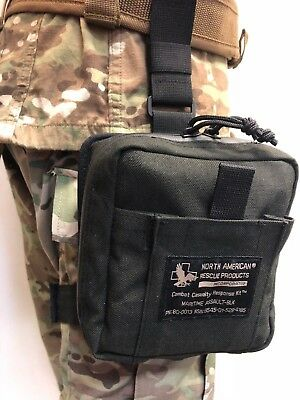 Na Rescue Nar Maritime Assault Kit 80-0013 Cat Combat Gauze Chest Seal Black New