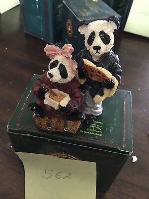 Boyds Hsing Hsing And Ling Ling Darling Figurine (562) Great Holiday Gift