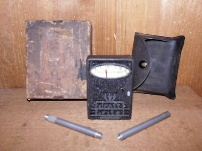 Vintage Bacharach draft-rite Draft Gauge In Box With Case And Tubes