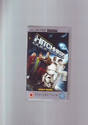 The Hitchhiker's Guide To The Galaxy - Sony Psp Umd Video Film - Complete - Vgc