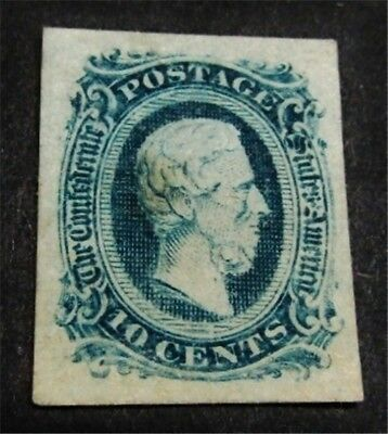 nystamps US CSA Confederate Stamp # 11 Mint OG H $16