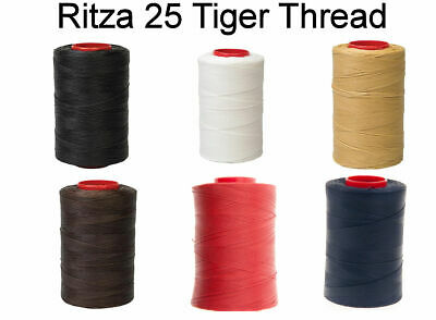 US SELLER 25m_82 feet RITZA Tiger 0.8mm Leather Hand Sewing Thread CHOOSE COLOR