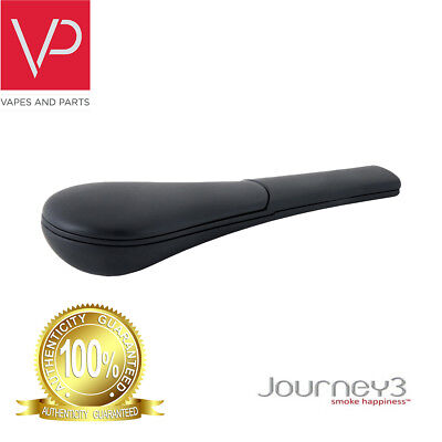 AUTHENTIC! Journey3 Pipe - Soft Black With Plastic Case