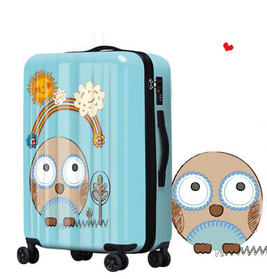 A235 Fashion Coded Lock Universal Wheel Travel Suitcase Luggage 20 Inches W