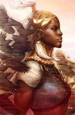 2018 Marvel Comics - BLACK PANTHER #1 - Artgerm 1:100 Virgin Variant - Shuri