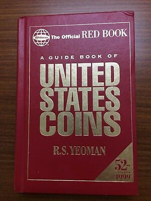The Official Red Book United States Coin 52nd Edition 1999