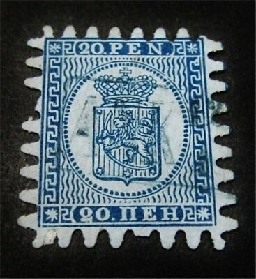 nystamps Finland Stamp # 9 Used $68