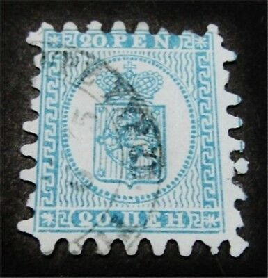 nystamps Finland Stamp # 9a Used $98