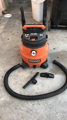 RIGID Wet/dry Shop Vacuum 16 Gallon Capacity 6.5 Horsepower